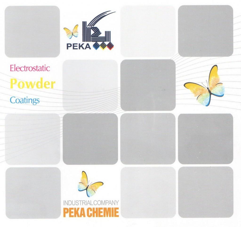 Порошковая краска PEKA